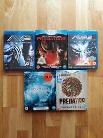 Job Lot of Blu Rays including Predator Aliens Harry Potter