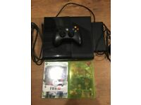 Xbox 360 4gb with 2 games