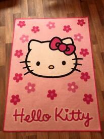Children's Hello Kitty floor rug