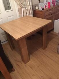 Oak dinning table only