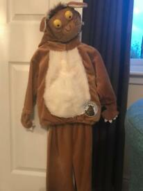 Gruffalo's child dress up costume age 1-3 years