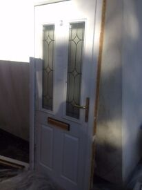 pvc external standard front door