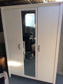 Ikea 3 door wardrobe