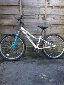 Girls Apollo mountain bike in excellent condition. Ideal for girl aged between 8 and 12.