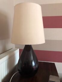 2 x table lamps for sale - must collect
