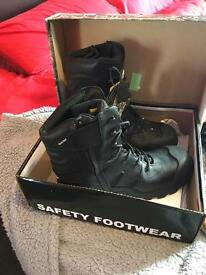 Rock Fall titanium boots size 12. New Cumnock