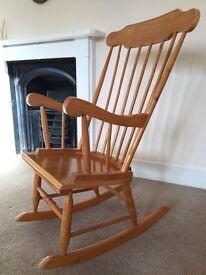 Pine Rocking/Nursing Chair