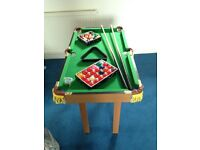 3ft Snooker/Pool Table