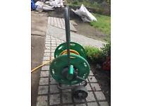 Hozelock free-standing garden hose