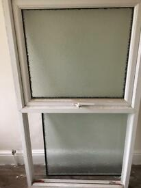 Upvc frosted window