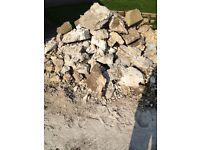 Concrete Hardcore / Bricks