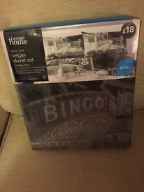 George home Vegas duvet set