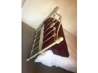 Shabby Chic cast iron bed stead