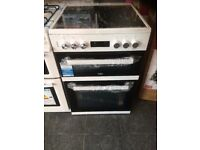 beko electric cooker with ceramic hob brand new still in packaging