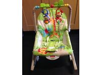Used fisher price baby bouncer/ rocker