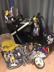 Cosatto giggle travel system pram baby