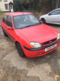 FORD FIESTA ZETEC FREESTYLE 1.25L