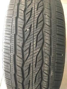 5700) 4- 275/55R20 CONTINENTAL CROSS CONTACT ALL SEASON NEW TAKE OFF TIRES $ 550 set