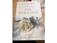 celebrant books for creating a wedding.