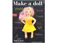 Learn to make a rag doll!