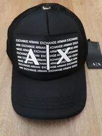 Armani Exchange Mesh Caps Limited Edition