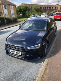 Audi A3 tdi 150bhp black edition 2017