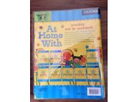 Key stage 1 set of 8 oxford learning books (At home with) ages 5-7