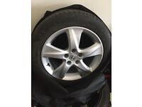 Honda Accord 2011 alloy and tyre