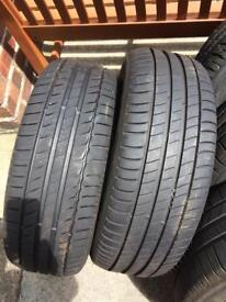4x 205/55 R16 Michelin tyres