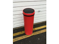 MADE red BIN for £30, 50l touch-free