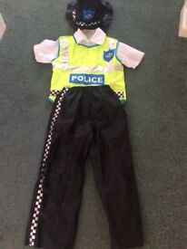 Age 3-5 policeman dress up outfit
