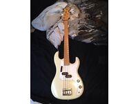 Cream Bass Guitar