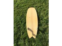 Hawaiian soul fish surfboard