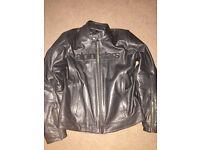 Alpine stars motorbike jacket leather