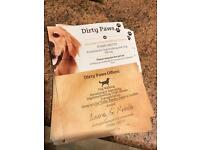 Dirty Paws Dog Walking Services