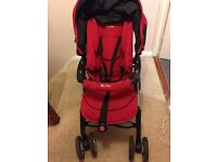 Silver Cross pushchair & Car seat