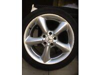 Alloy wheels 17 ins