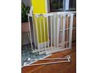 3x BabyDan Danamic Narrow Pressure Fit Safety Gate (63-69.5 cm)