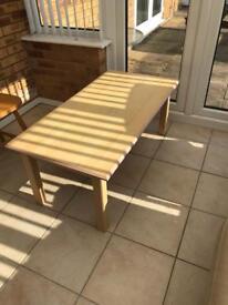 Coffee Table - beach colour