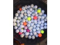 Job lot of 3500 golf balls all brands