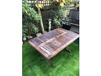 Garden Table / Wooden Garden Table