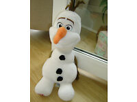 LARGE DISNEYS OLAF THE SNOWMAN FROM FROZEN BUILD A BEAR SOFT TOY