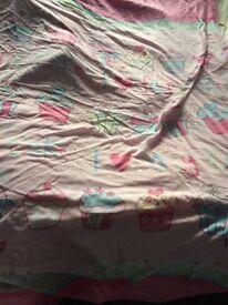 Girls single bedding bundle