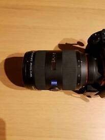 Sony Zeiss 24 70 F2.8 Sony + Sony LA EA4 Adapter for FE mount