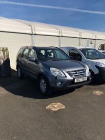 2006 Honda CRV 2.0 I-CTDI SPORT,4x4 jeep , FULL YR MOT, TRADE IN CONSIDERED, CREDIT CARDS ACCEPTED