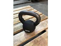 FXR Sports 6kg Rubber Sleeve Iron Kettlebell