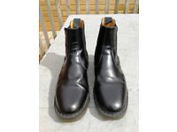 Black chelsea boots size 9 handmade in England