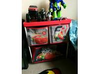 Disney cars storage small unit