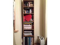 Full Length Bookcases 6 shelves Bookshelf Storage 42 x179 cm