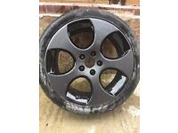 Golf GTI Monza Alloy Wheels Mk5 Mk6 18inch x4